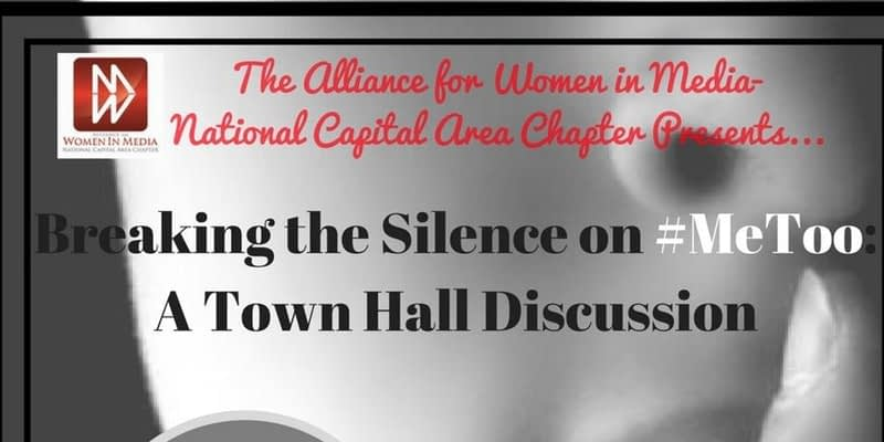 February 22, 2018: Breaking the Silence on #MeToo: A Town Hall Discussion
