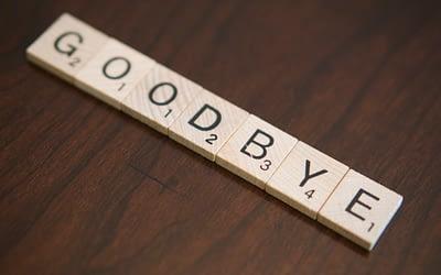 Goodbye with Caveats